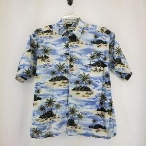 VINTAGE PIERRE CARDIN 100% Cotton Hawaiian Shirt
